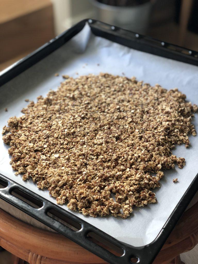 Granola vegan, muesli croustillant, produits bio