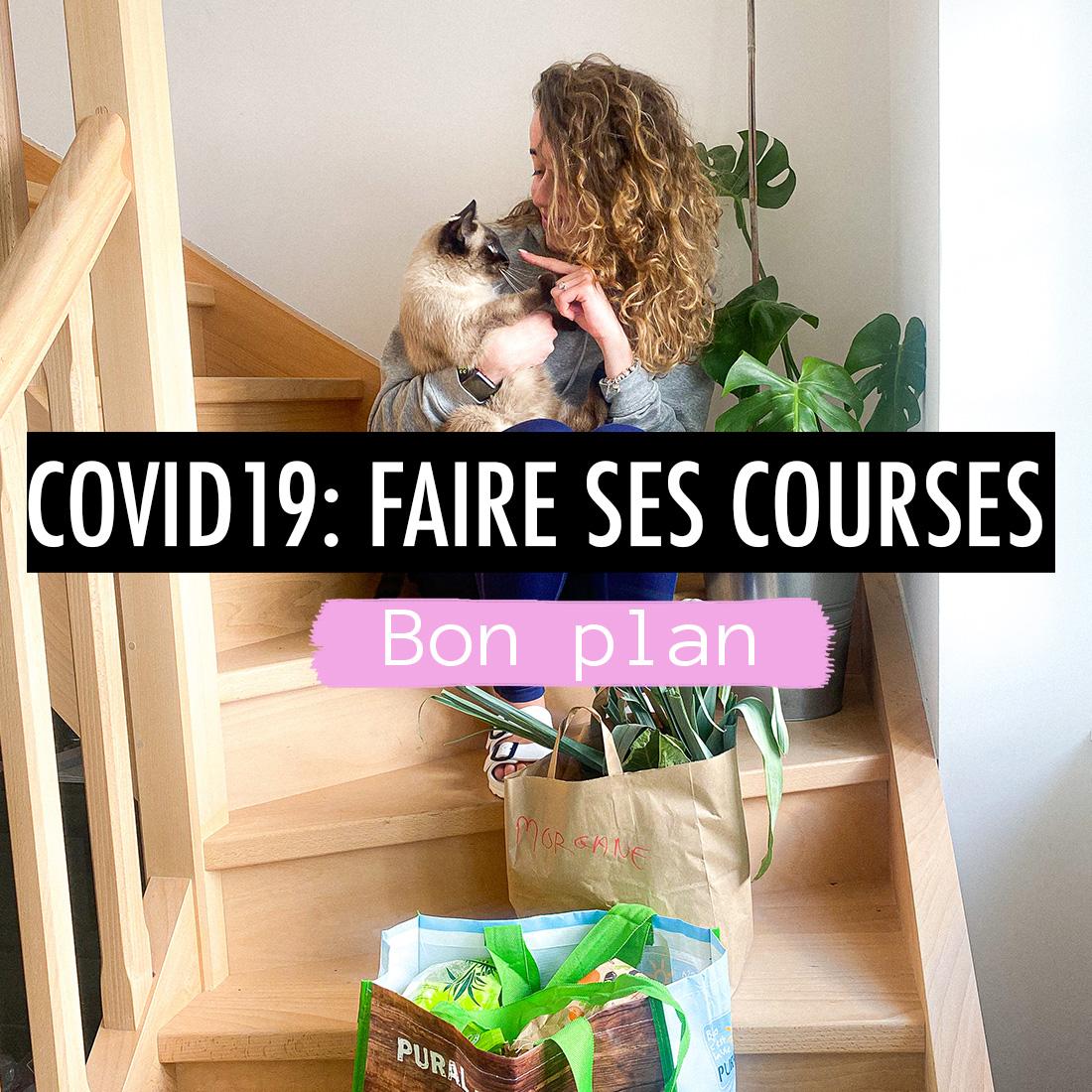 Covid19 : se faire livrer ses courses !